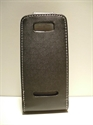 Picture of Nokia Asha 306 Black Leather Case