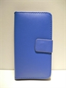 Picture of Nokia 520 Blue Leather Wallet Case
