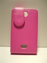 Picture of Nokia Asha 503 Pink Leather Case
