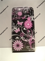 Picture of Nokia 520 Butterfly Floral Leather Flip Case