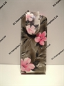 Picture of Nokia C3-01 Grey Floral Flip Case