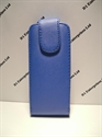 Picture of Nokia C3-01 Blue Leather Flip Case