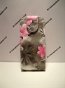 Picture of Nokia 206 Grey Floral Leather Case
