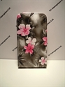Picture of Nokia Lumia 510 Grey Floral Leather Case