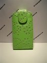 Picture of Nokia Asha 201 Green Diamond Leather Case