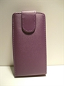 Picture of Nokia 500 Purple Leather Case