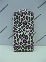 Picture of Nokia 302 Pink Animal Print Leather Case