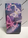 Picture of Huawei Y330 Butterfly Leather Wallet Case