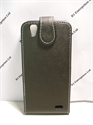 Picture of Huawei G630 Black Leather Flip Case