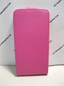 Picture of Huawei Y550 Pink Leather Flip Case