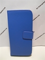 Picture of HTC M8 Blue Leather Wallet Case