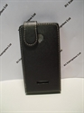 Picture of Nokia Lumia 435 Black Leather Flip Case