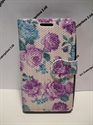 Picture of Nokia 532 Purple Floral Wallet Case