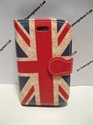 Picture of Galaxy Fame Rustic Union Jack Leather Wallet