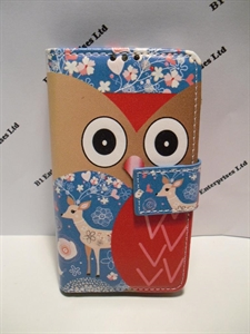 Picture of Sony Ericsson Xperia M Animated Leather Wallet Case