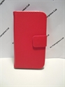 Picture of Samsung Galaxy Ace 3 Red Leather Wallet