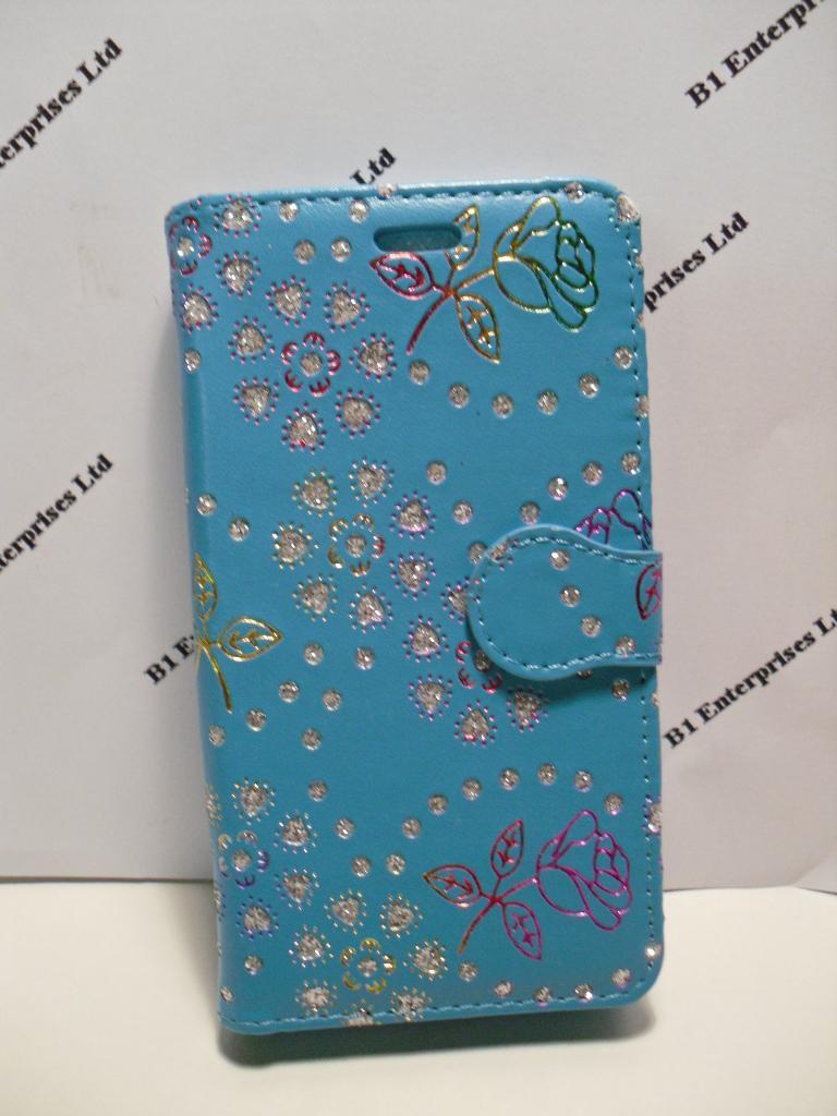 buy online de4d0 0c22e LG Spirit Aqua Floral Diamond Leather Wallet Case| Huawei cases and ...