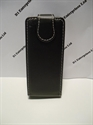 Picture of Nokia Asha 203 Black Leather Flip Case