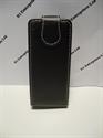 Picture of Nokia C2-02 Black Leather Flip Case