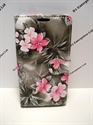 Picture of Microsoft 535 Grey Floral Leather Wallet Case
