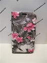 Picture of Microsoft Lumia 950 XL Grey Floral Wallet Case