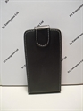 Picture of Sony Xperia P, LT22i Black Leather Flip Case