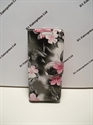 Picture of Nokia 220 Grey Floral Leather Wallet Book Case