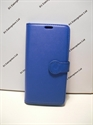 Picture of Galaxy S6 Edge Plus Blue Leather Wallet Case