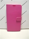 Picture of LG G5 Pink Leather Wallet Book Case