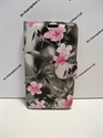 Picture of Xperia M2 Grey Floral Leather Wallet Case