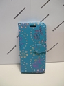 Picture of Huawei Y5 Aqua Floral Diamond Leather Wallet Case