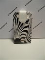 Picture of Blackberry Curve 9360 Zebra Face Leather Flip Case
