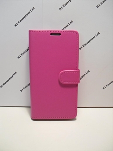 new styles 9e8f6 1e998 Alcatel Pop Star 3G Pink Leather Wallet Book Case | Huawei cases and ...