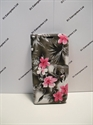 Picture of HTC One M10 Grey Floral Leather Wallet Case