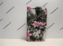 Picture of HTC Desire 310 Grey Floral Leather Case