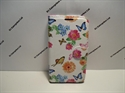Picture of Galaxy S5 Colour Floral Butterfly Leather Wallet Case