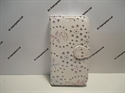 Picture of Samsung Galaxy S3 Neo White Diamond Floral Leather Wallet