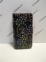 Picture of Microsoft Lumia 550 Black Floral Diamond Wallet Case