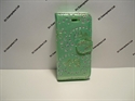 Picture of Microsoft Lumia 650 Emerald Floral Diamond Leather Wallet Case