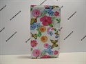 Picture of Smart Prime 6 Butterfly Floral Leather Wallet Case