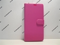 Picture of Sony Xperia XA Ultra Pink Leather Wallet Case.