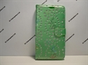 Picture of Smart Ultra 6 Emerald Floral Diamond Leather Wallet Case