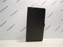 Picture of Xperia XZ Black Leather Wallet Case.