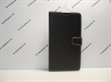 Picture of Xperia T3 Black Leather Wallet Case.