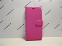 Picture of Alcatel Shine Lite Pink Leather Wallet Book Case