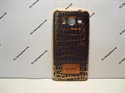 Picture of Samsung Galaxy J3 2016 Patterned Dark Brown Gel Cover