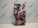 Picture of Huawei P10 Lite Grey Floral Book Wallet Case