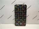 Picture of ZTE Blade V7 Lite Black Floral Diamond Leather Wallet Case