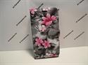 Picture of ZTE Blade V7 Lite Grey Floral Wallet Case