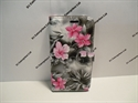 Picture of Lenovo Vibe B Grey Floral Wallet Case